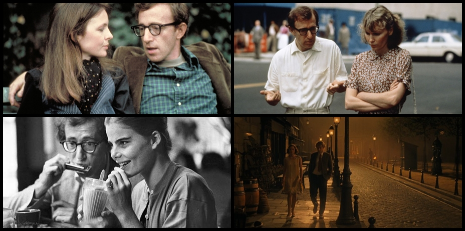 ANNIE HALL, from left: Diane Keaton, Woody Allen, 1977