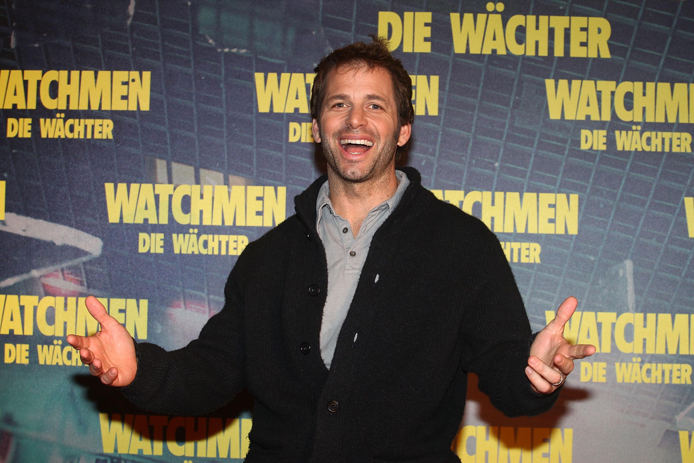 Zack Snyder, Director attends the 'Watchmen' ('Die Waechter') photocall at hotel Bayerischer Hof on February 26, 2009 in Munich, Germany.  (Photo by Johannes Simon/Getty Images) MUNICH, GERMANY - FEBRUARY 26.
